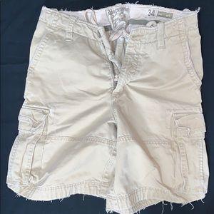 Men's Abercrombie khaki shorts